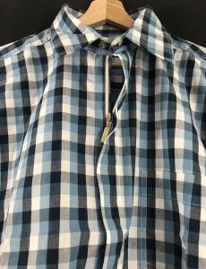 Chemise zippée manche longu
